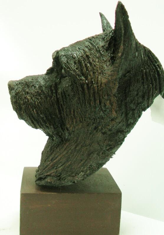 Life-size-head-of-Cairn-Terrier-Richard-Austin-sculpture-2